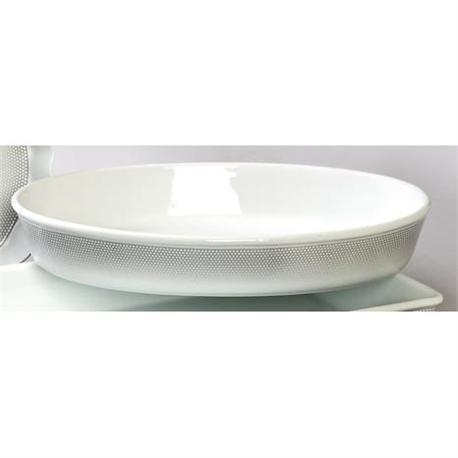 Baker oval 41 cm Bonito grey