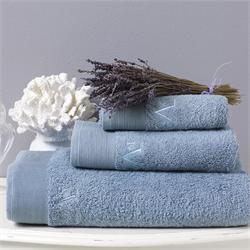 V19.69 Italia , Towel 100x150cm-ELEGANTE BAGNO Mirtillo