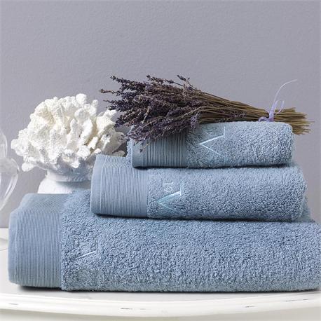 V19.69 Italia , Towel 50x100cm-ELEGANTE BAGNO Mirtillo