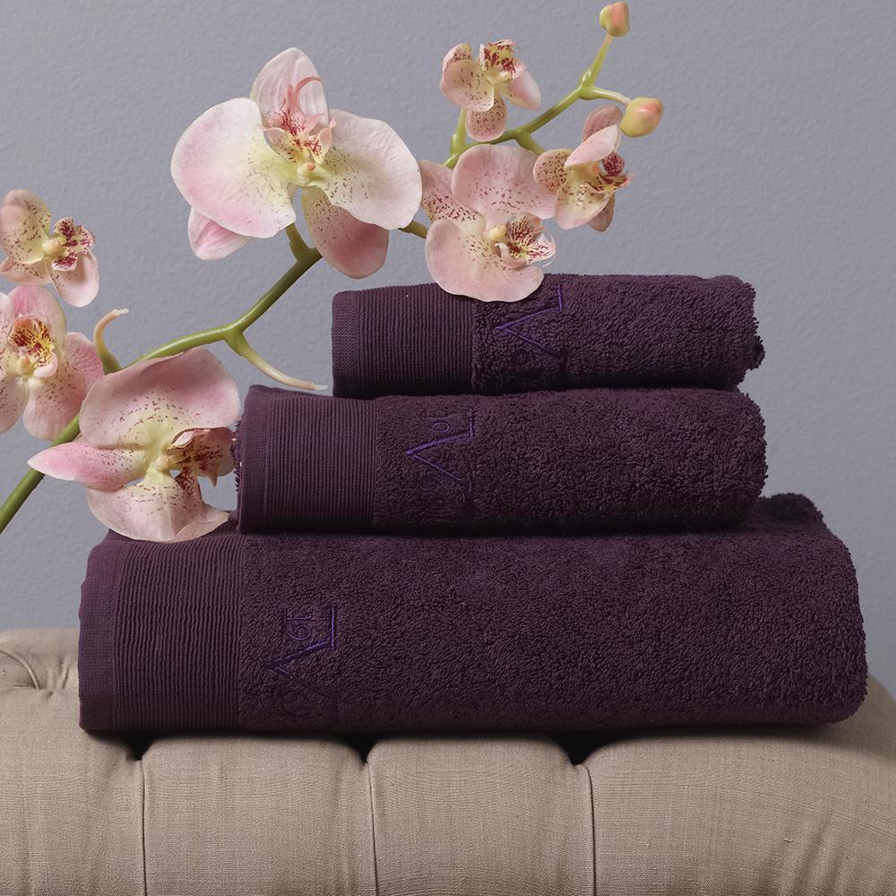 Towel 50x100cm-ELEGANTE BAGNO Uva