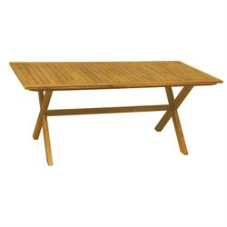 Rectangular table Acacia Wood 90x180 cm