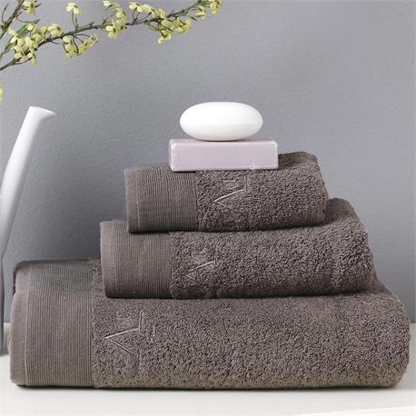 V19.69 Italia , Towel 40x60cm-ELEGANTE BAGNO Grigio