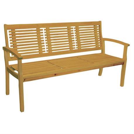 Bench 2 seats Acacia Wood 120 cm