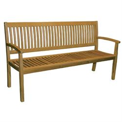 Bench 2 seats Acacia Wood 120 cm