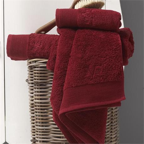 V19.69 Italia , Towel 40Χ60 cm ELEGANTE Bordo