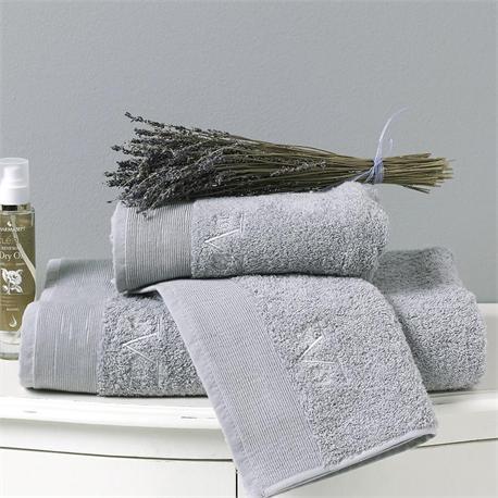 V19.69 Italia , Towel100Χ150 cm ELEGANTE Nebbia