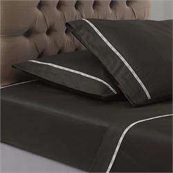 V19.69 Italia , Bedsheet double 250 Χ 280cm - COLORI CAFFE