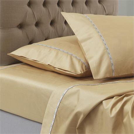 V19.69 Italia , Single bedsheet 190Χ280 cm-COLORI MANDORLA