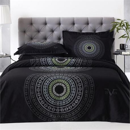 V19.69 Italia , Bedspread double + 2 pillow cases- ROMANO