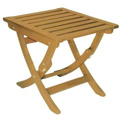 Folding coffee table Acacia Wood 50x44 cm