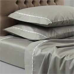 V19.69 Italia , pillow cases 2 - 50Χ70 - COLORI GRIGIO