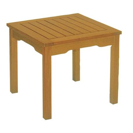 Coffee table acacia wood 50x50 cm for Table 50x50