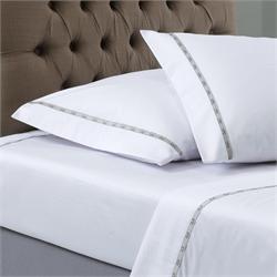 V19.69 Italia , pillow cases 2 - 50Χ70 - COLORI BIANCO