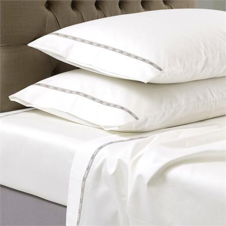 V19.69 Italia , Single bedsheet 190Χ280 cm-COLORI PANNA