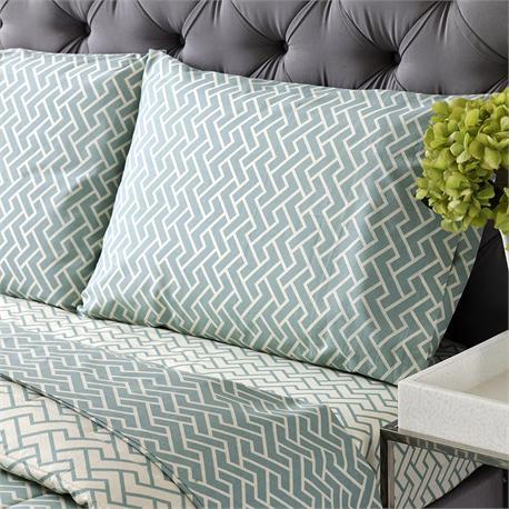 V19.69 Italia , Set 2 double bedsheets 240x270cm+2 pillow cases CAPRI