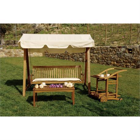 Swing 3 seats Acacia Wood 200 cm