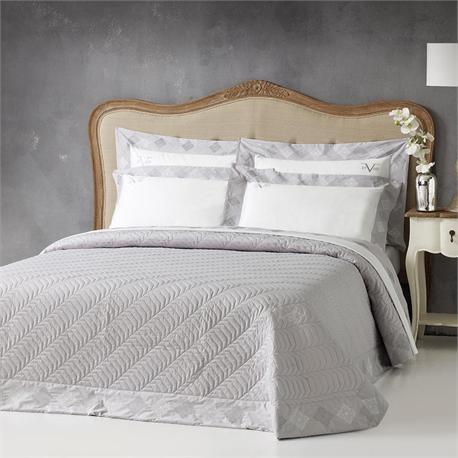 V19.69 Italia , Set bedsheets double 240Χ270+2 pillow cases-IMPERIA Grey