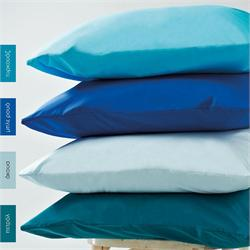 Pillow cases color 2- 50 Χ 70cm - BELLA Aqua