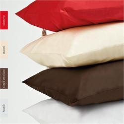 Pillow cases color 2- 50Χ70cm - BELLA Red
