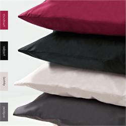 Pillow cases color 2- 50 Χ 70cm - BELLA Black
