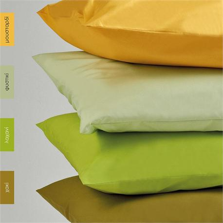 Pillow cases color 2-50Χ70cm- BELLA Mustard