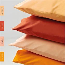 Pillow cases color 2-50Χ70cm- BELLA Orange