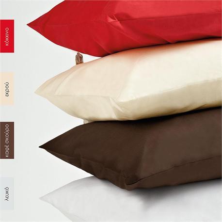 Bedsheet single 170 Χ 265 cm- BELLA Red