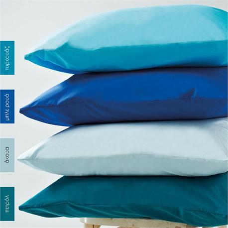 Bedsheet single 170 Χ 265 cm - BELLA Petrol