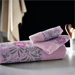 Set Towels Jacquard finishing 3 Pcs.VENUS FUSCHIA