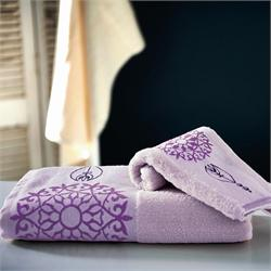 Set Towels Jacquard finishing 3 Pcs.MARS LILAC