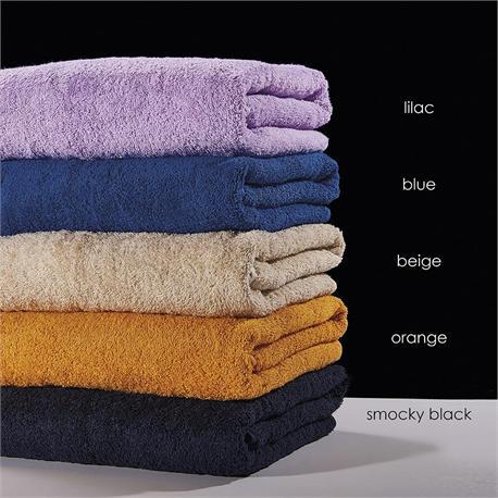 Beach towel 80Χ180 SMOCKY BLACK