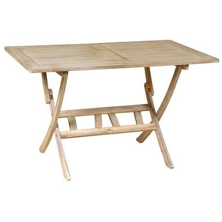Rectangular folding table Antique Sahara 70x120 cm