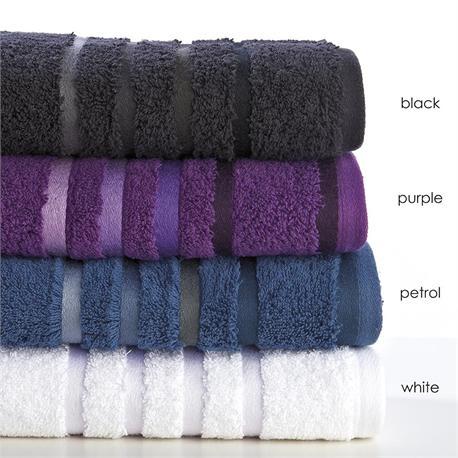 Towel 50x100 cm - SELECTION Bath Black