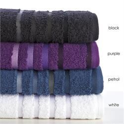 Towel 50x100cm - SELECTION Bath Petrol