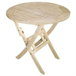 Τραπέζι στρογγυλό πτυσσόμενο Antique Sahara Ø70 εκ