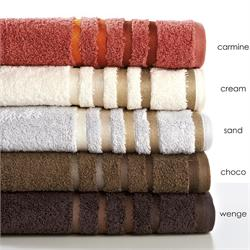 Towel 40x60cm - SELECTION Bath Carmine