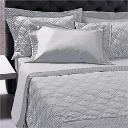 Set Bedspread+Set bedsheets double 7 Pcs. CLASSY GREY