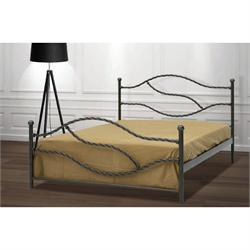 Iron Double bed PAROS 160X200 cm