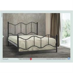 Iron Double bed NAXOS 160X200 cm
