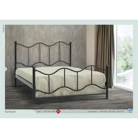 Iron Double bed NAXOS 160X200 cm