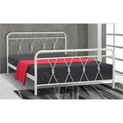 Iron Double bed SERIFOS 160X200 cm