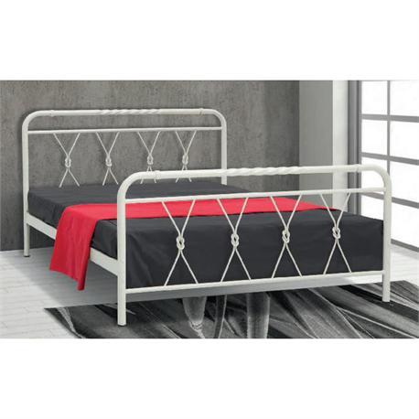 Iron Double bed SERIFOS 160X200 cm