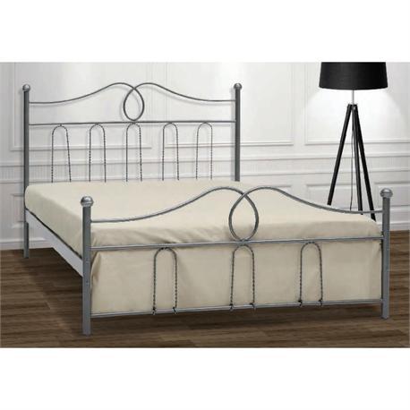 Iron Double bed KYTHNOS 160X200 cm