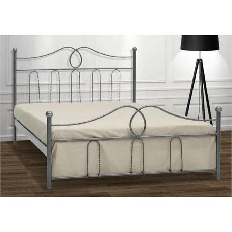 Iron Single bed KYTHNOS 90X200 cm