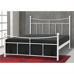 Iron Double bed ANAFI 160X200 cm