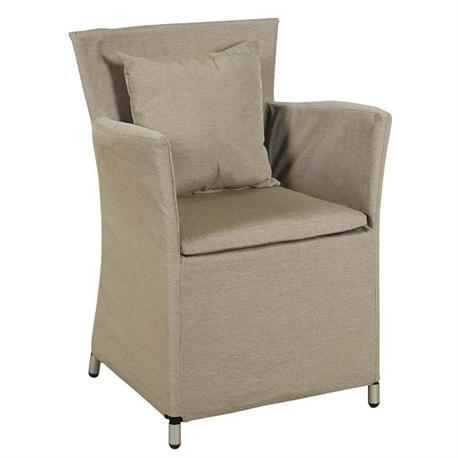 Armchair Rattan with cushion