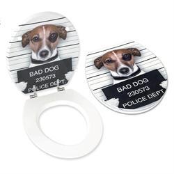 Toilet seat MDF 40Χ49 cm doggy