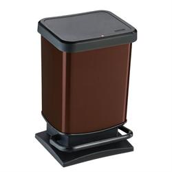 Medium bin 20lt brown
