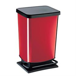 Medium bin 20lt red