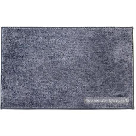 Polyester bathmats Marseille grey 50Χ80 cm